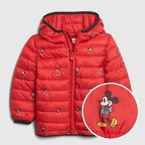 Mickey Mouse Gap puffer jacket
